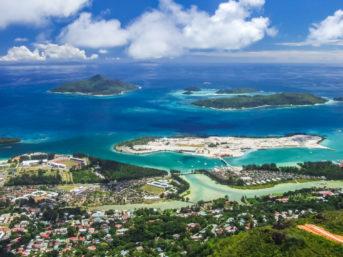Sainte Anne Marine Nationalpark vor der Seychellen-Insel Mahe