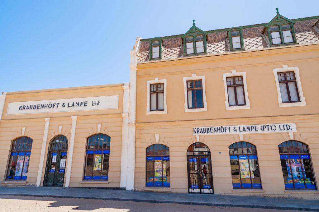 Krabbenhöft und Lampe in Lüderitz