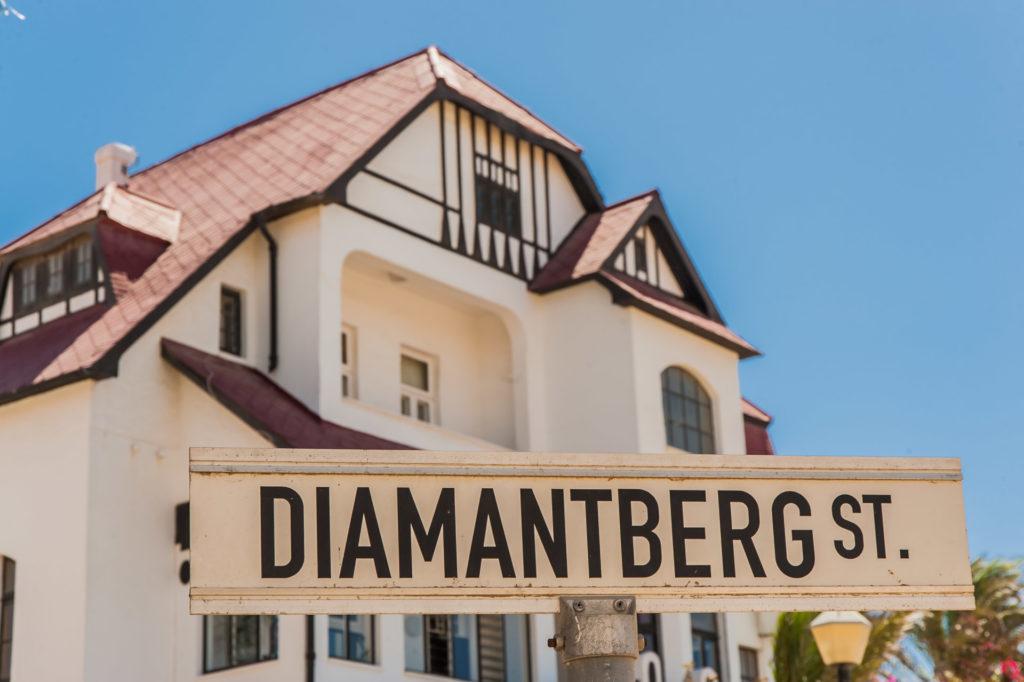 Deutsche Straßennamen in Lüderitz