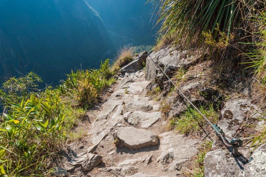 Aufstieg auf den Huayna Picchu