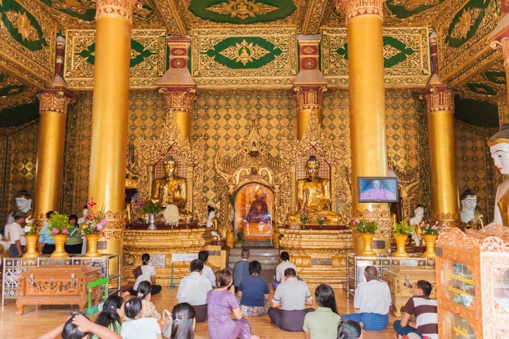 Southern Devotional Hall (Andachtshalle) für Buddha Konagama