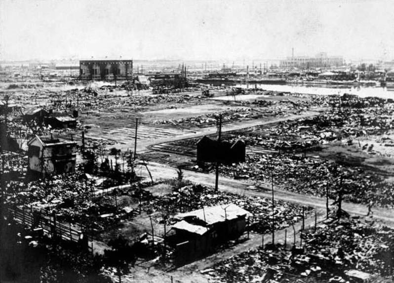 Das große Kanto-Erdbeben 1923 kostete Juchheim erneut seine Existenz