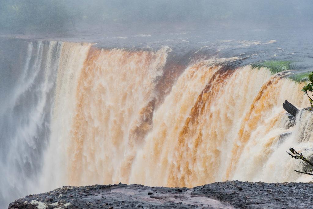 Kaieteur Wasserfall Abbruchkante