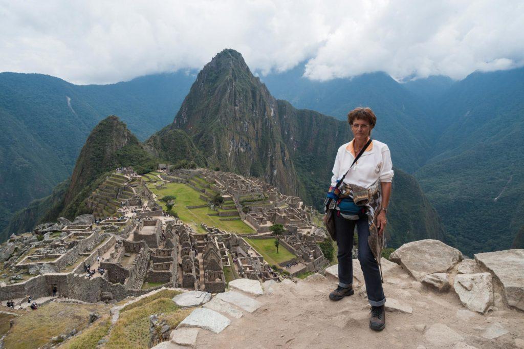 Ich stehe in Machu Picchu, mein Traum hat sich erfüllt