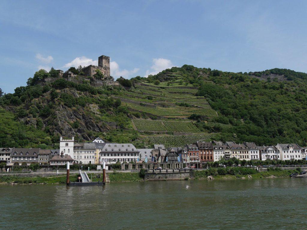 Kaub am Rhein, die Geburtsstaddt von Karl Joseph Juchheim