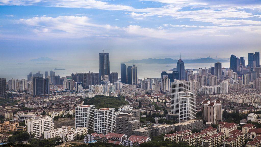 Die chinesische Stadt Qingdao, das ehemalige Tsingtau