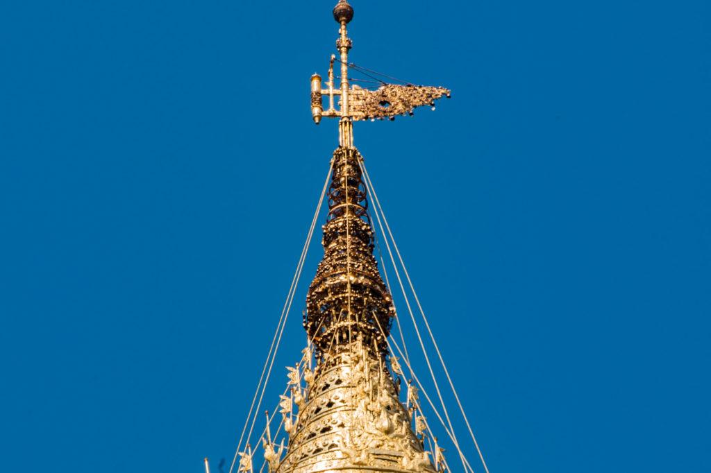 Stupa Spitze