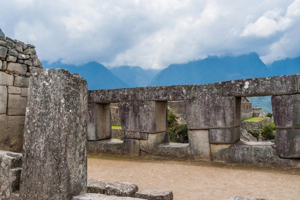 Der Tempel der drei Fenster