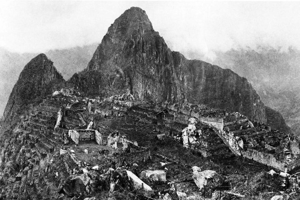 Historisches Foto von Bingham - Die Ruinenstätte 1912