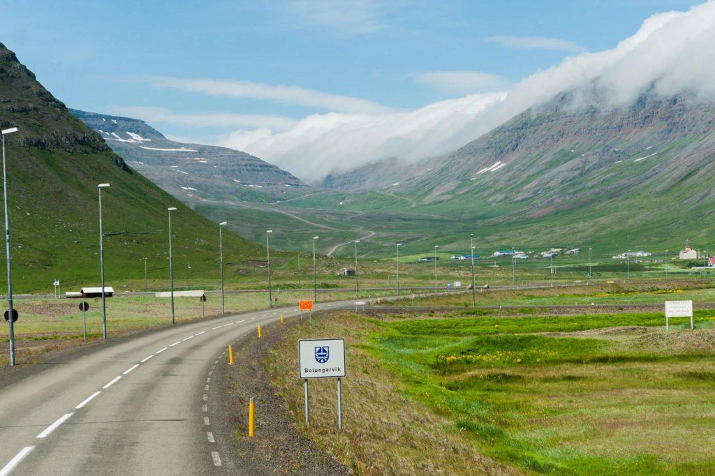 Abgelegene Ortschaften in den Westfjorden