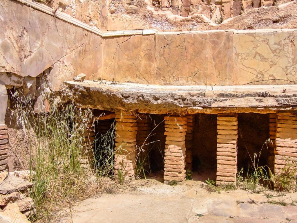 Hypokausten - die Warmluftheizung in den Hadriansbädern
