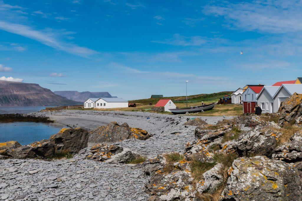 Insel Vigur in den Westfjorden in Island