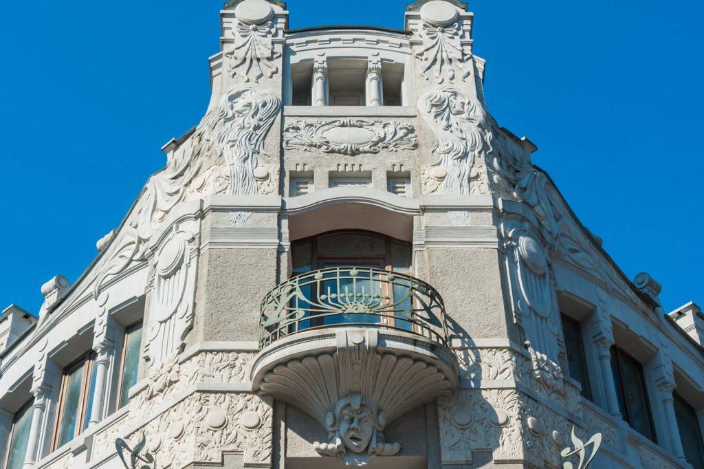 Jugendstil-Architektur in Batumi