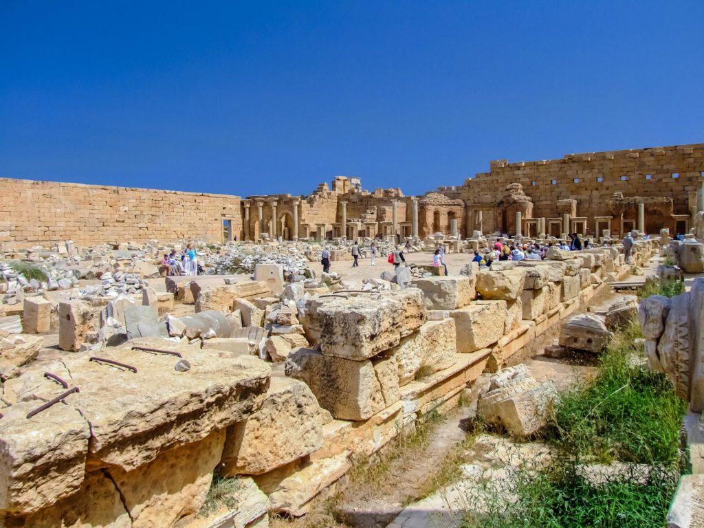 Das Neue Forum in Leptis Magna