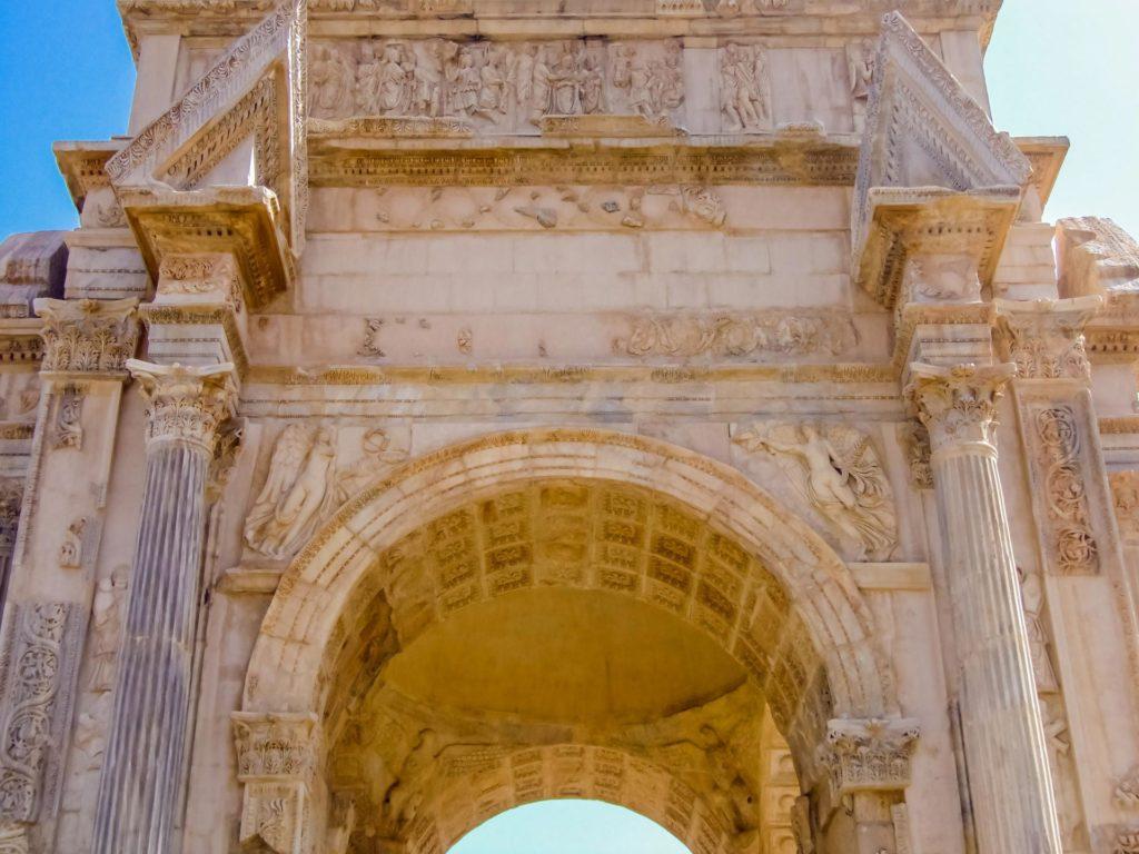 Triumphbogen in Leptis Magna, Detail