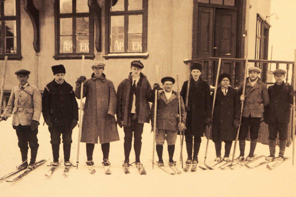 Isafjördur, Westfjorde, historisch - Ski-Verein