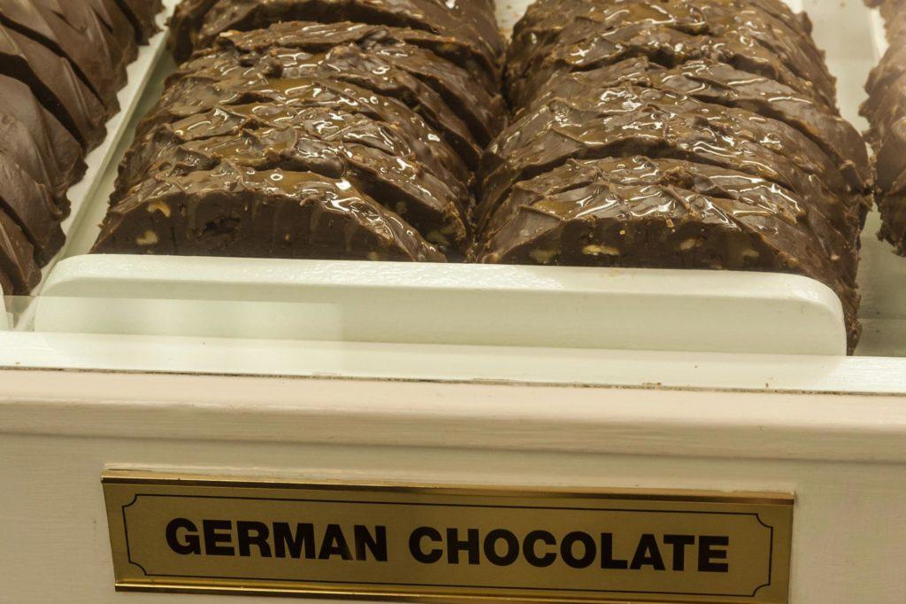 Es gibt sogar eine Sorte mit deutscher Schokolade