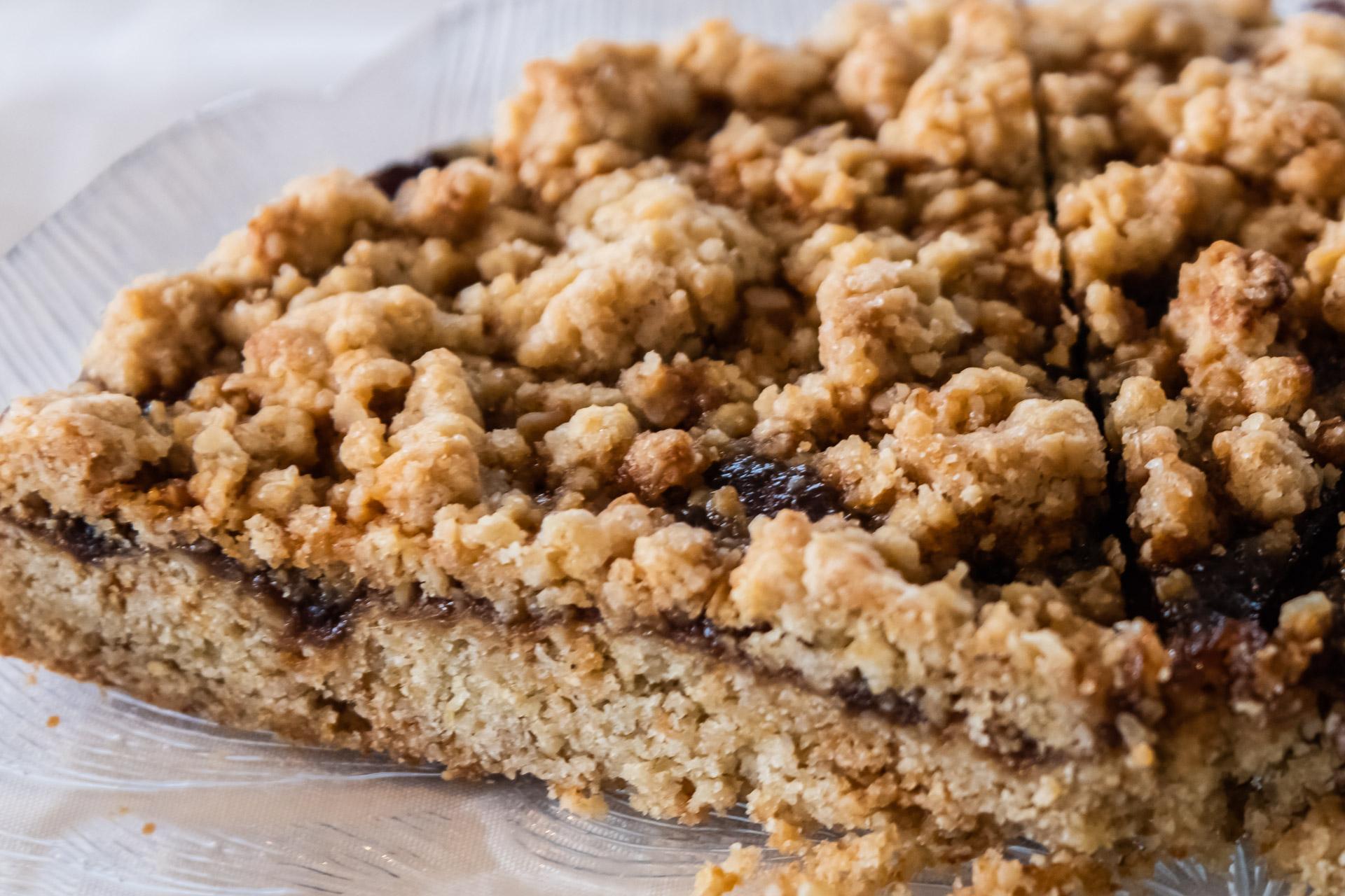 Hjónabandsaela isländischer Rhabarberkuchen