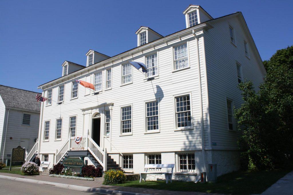 Robert Stuart House in der Market Street, heute ein Museum