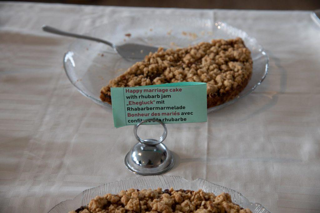 isländischer Hjónabandsaela-Kuchen