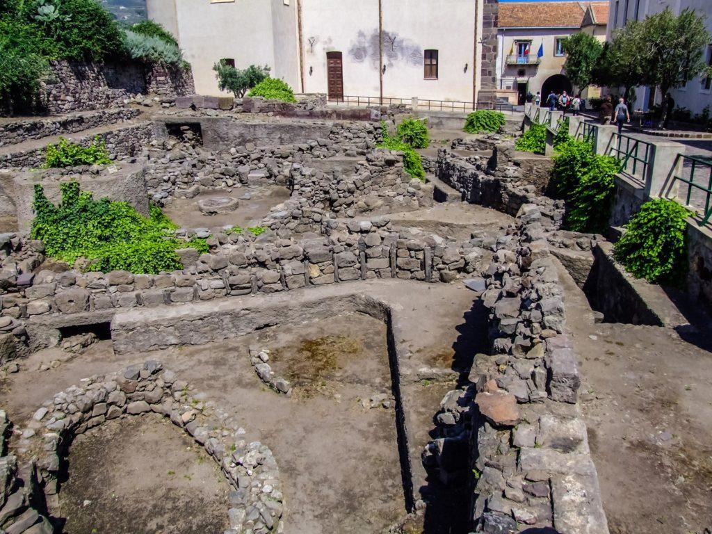 Ausgrabungen auf dem Burgberg