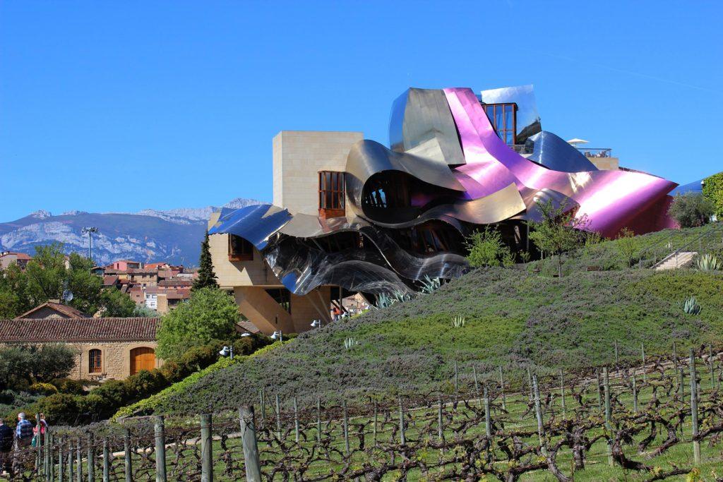 Hotel Marqués de Riscal - die 'kleine Schwester' des Guggenheim-Museums-Bilbao