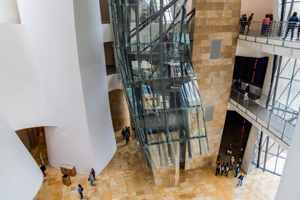 Das Atrium des Museums