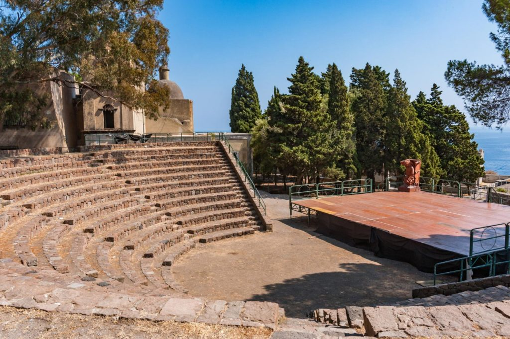 Nachbau eines Amphitheaters der Antike